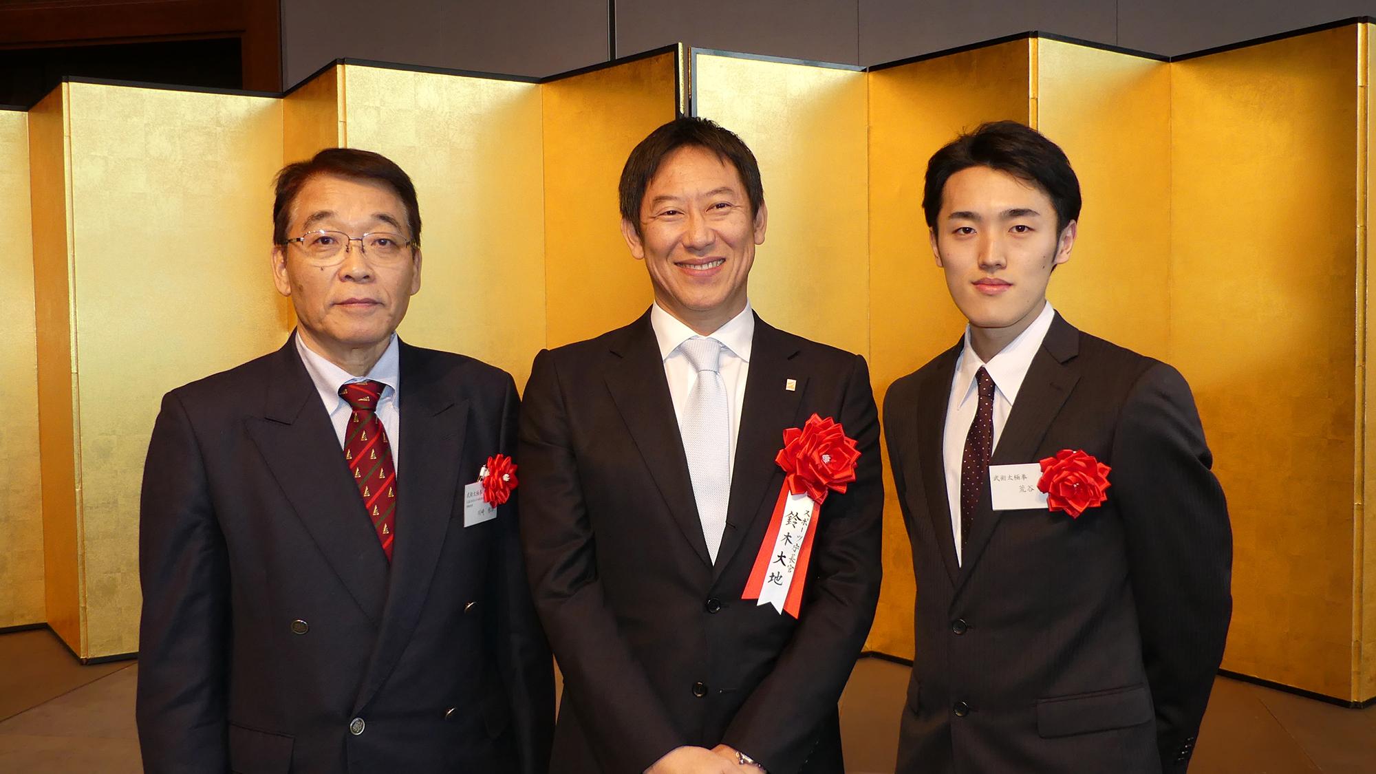 日本スポーツ賞 荒谷選手