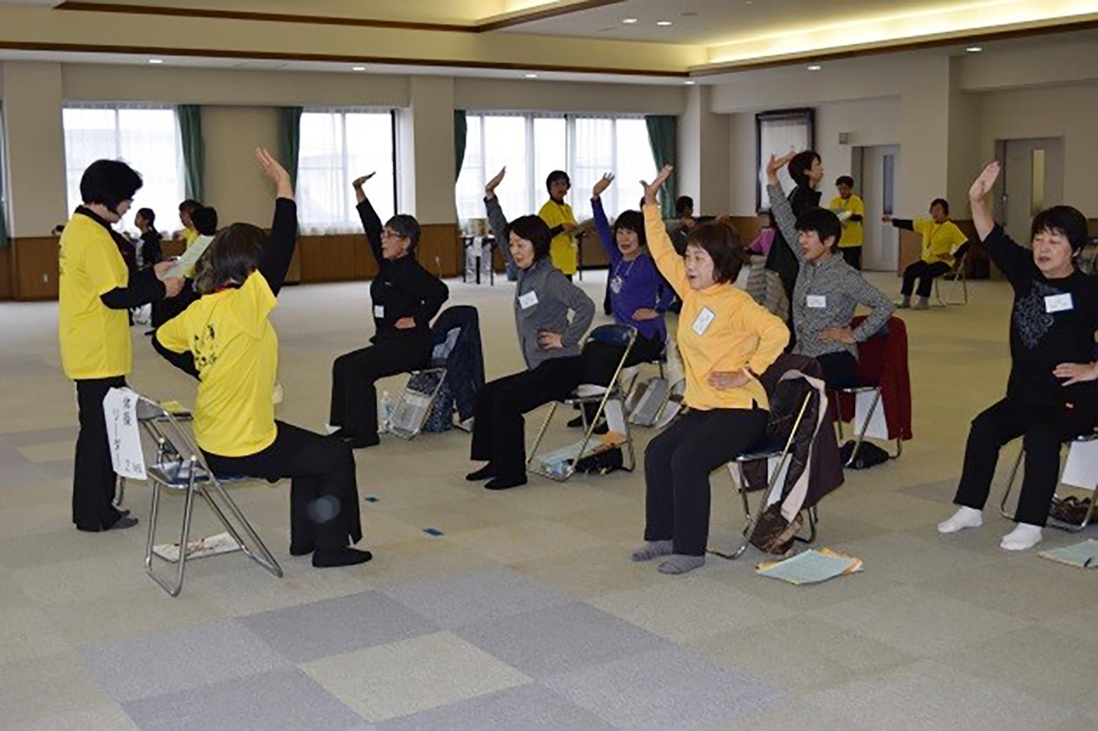 06_喜多方ゆったり体操ステップアップ講習会02