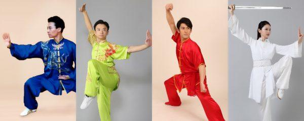 特別演武は、左から丁傑老師、下起悦郎先生、市来崎大祐 先生、市来崎直子先生の4人