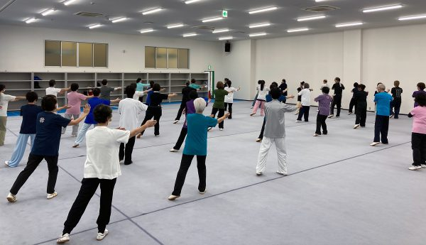 A級試験終了後の齋藤志保選手による八法五歩の講習