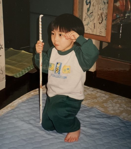 3歳で既に伝統武術を…