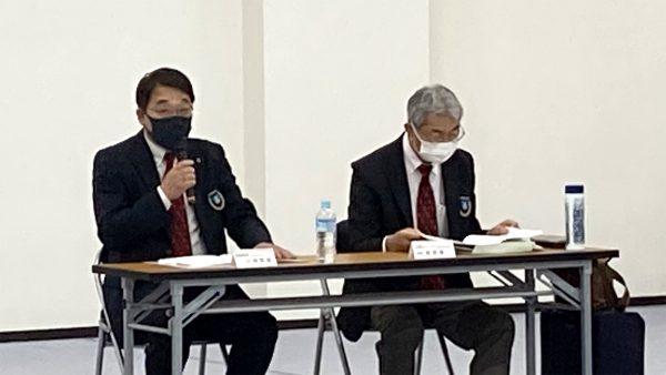 川﨑専務理事より前期事業の報告がなされた