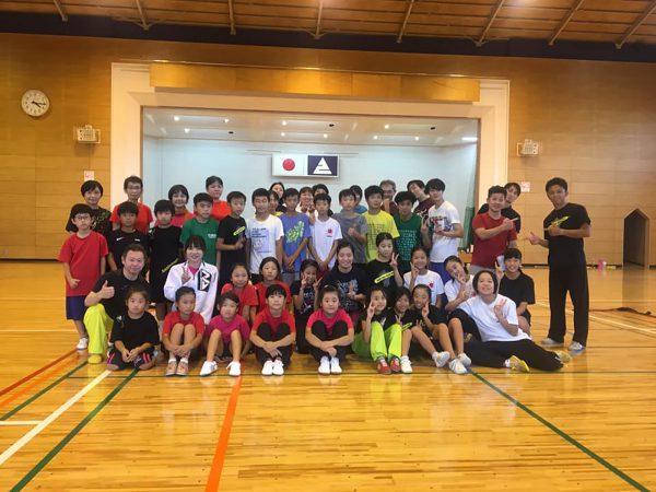 宮崎県で開催されたブロックJr強化講習会