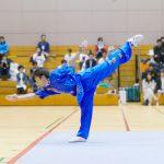 第74回 茨城国体での長拳国際第一套路の演武