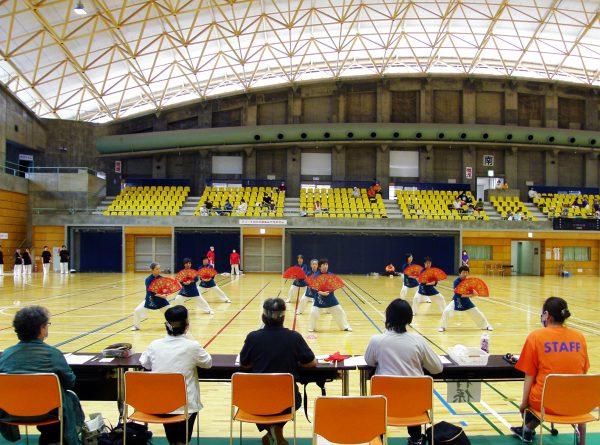 団体6~9人の部で優勝した、花祥(かしょう、藤枝市)