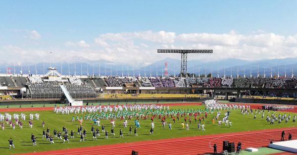 ねんりんピック富山02_総合開会式