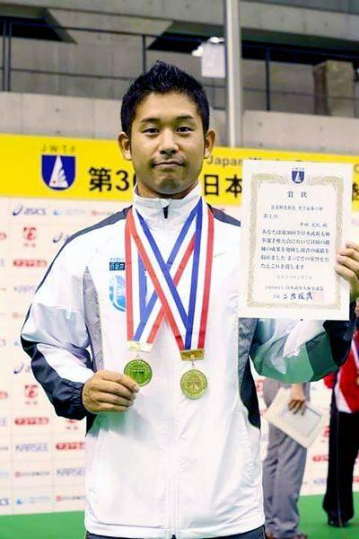 輝け武術太極拳アスリート11_2013年の全日本選手権表彰式後