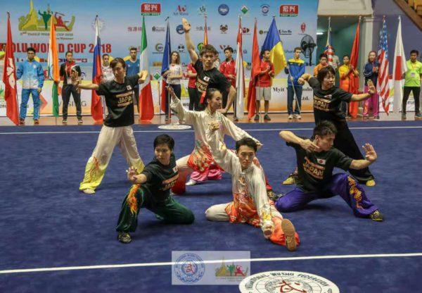 第2回大会で披露された日本代表チームの集体