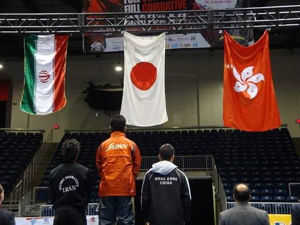 輝け武術太極拳アスリート11_2009年世界選手権で優勝した時の表彰台