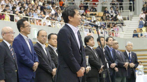 佐藤兼郎岡山県副知事による御祝辞