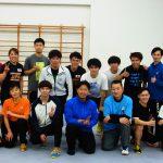 林杭貴国際審判員、鄺淯銘選手と記念撮影