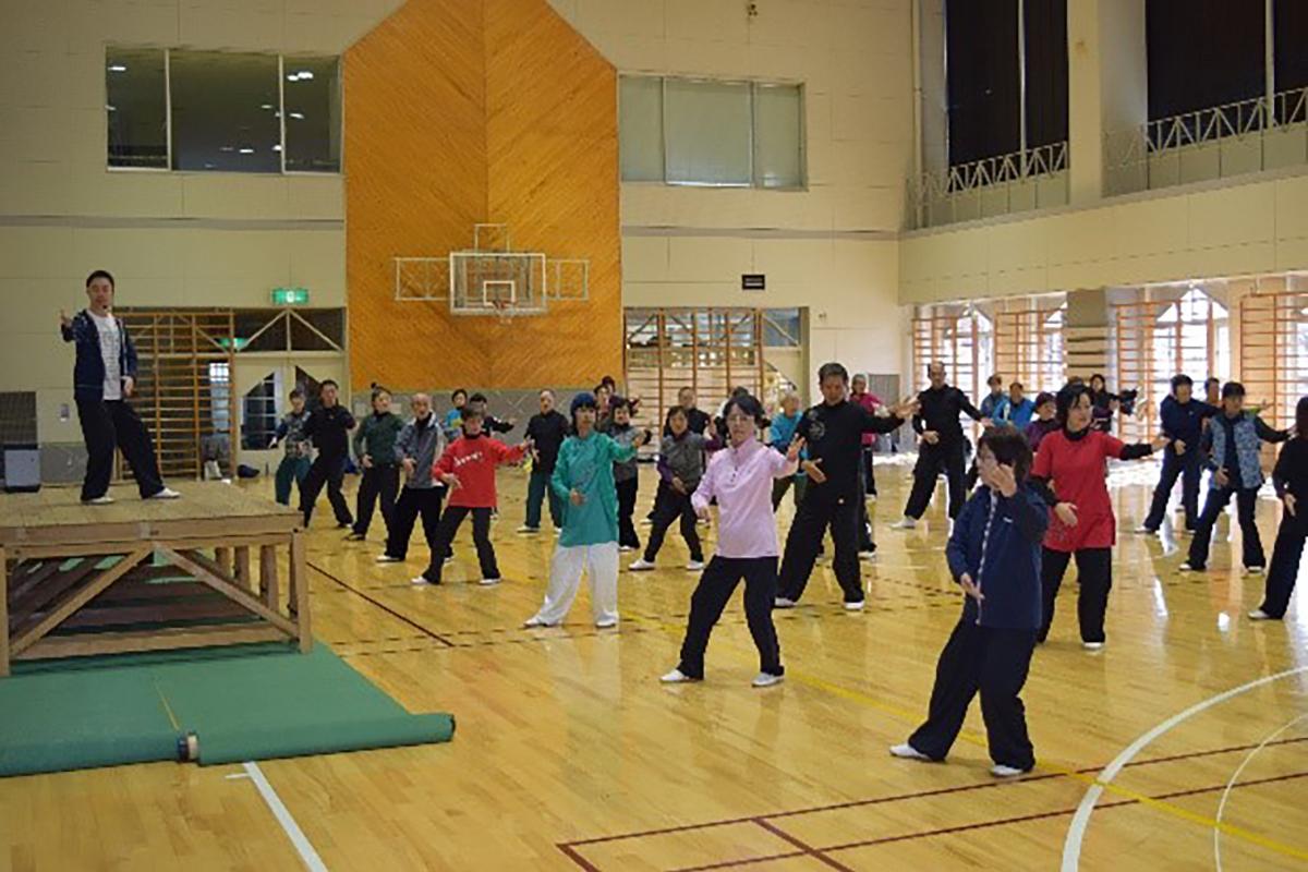 孔祥東先生 24式太極拳講習