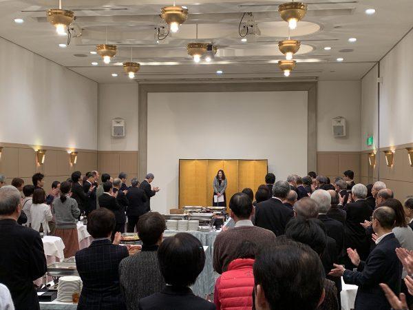 総会にお集まり頂いた皆さまと新年を祝い親睦を深める