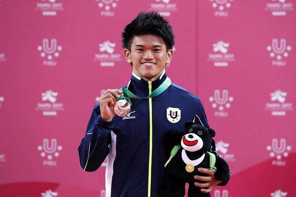 ユニバーシアードでのメダル獲得は大学でも大きく紹介された