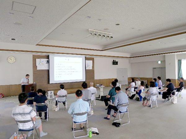 福島県立医科大学安村誠司教授による講演