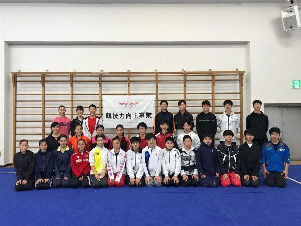 国際大会を目指し、選手全員が高い意識をもって訓練に望む