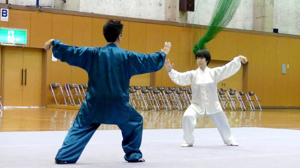 かごしま国体からの新種目・ペア24式 太極拳(自選)