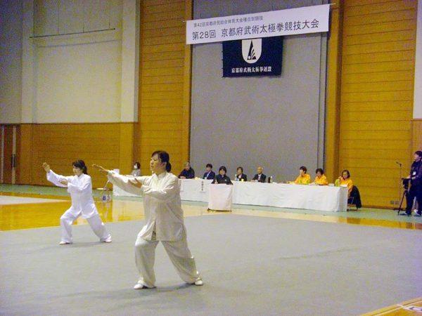 京都府代表を目指して繰り広げられる白熱の演武