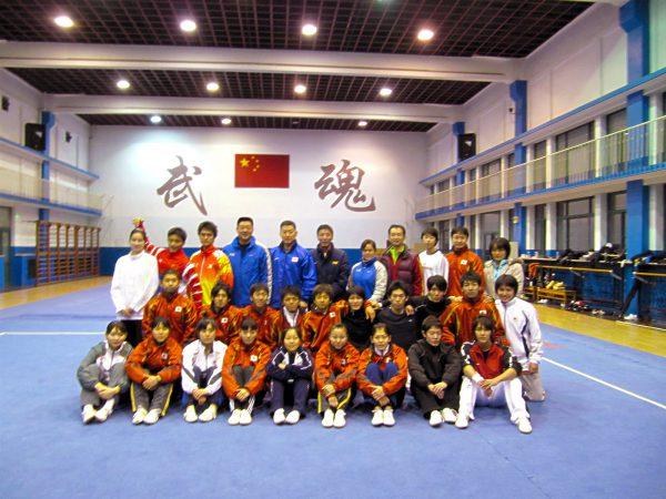 2010年頃。年2回中国での練習は大切な財産に