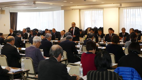 総会には加盟団体の代表とオブザーバー計67人が参加