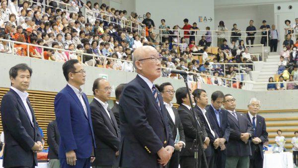 越宗孝昌・山陽新聞社会長による御祝辞