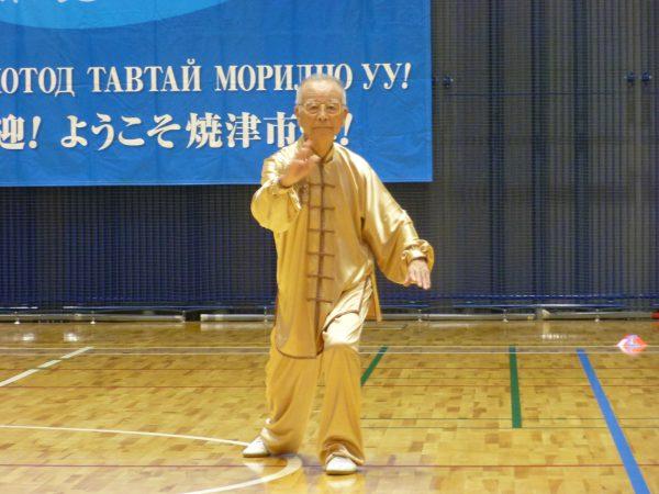 関元三郎(静岡県連会長)伝統楊式太極拳 90歳代 優勝
