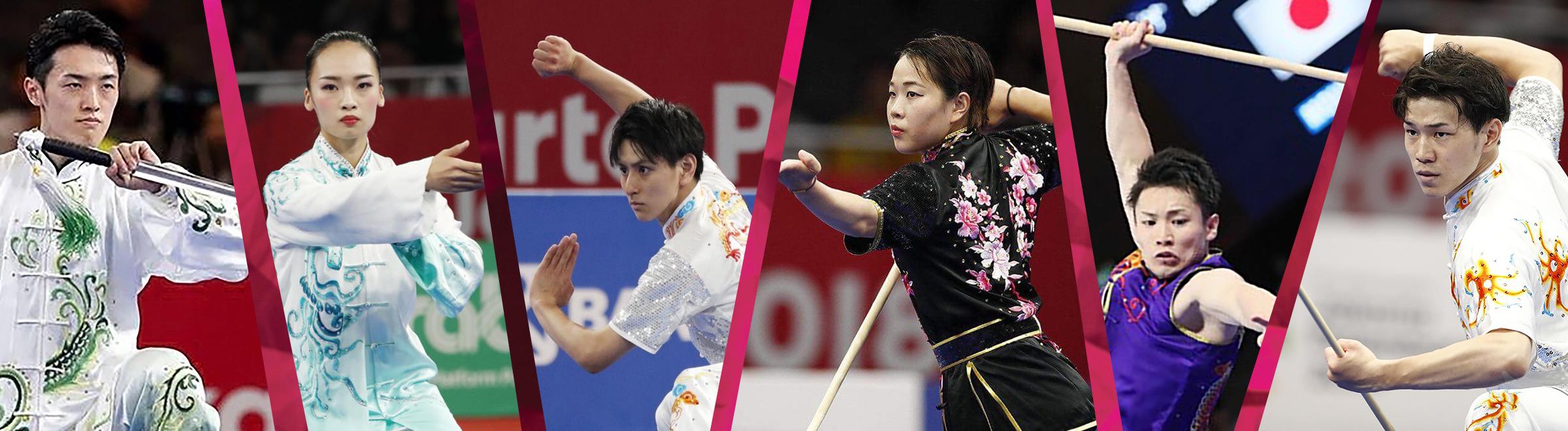 01_第18回アジア競技大会01_アジア大会日本代表選手たち